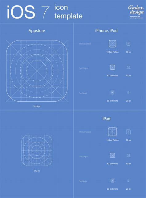 free ios design templates ios 7 icons template for free downloading an archive file