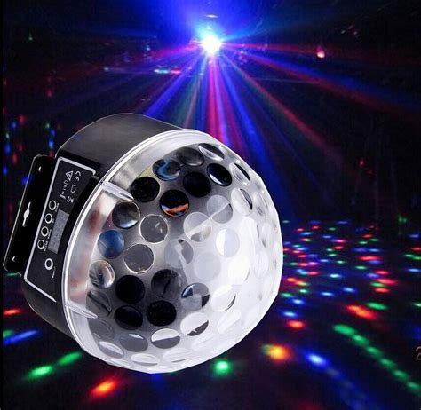 led disco light disco dj stage lighting rgb magic effect