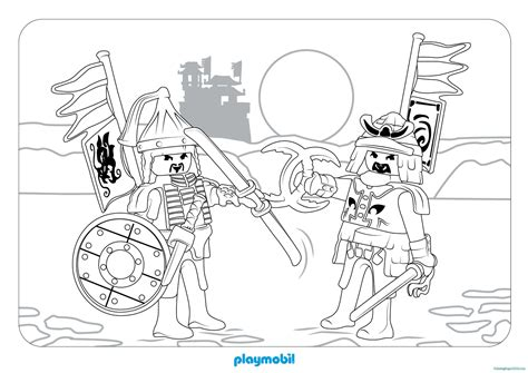 Coloring Pages Playmobil Knights | playmobil knights coloring pages coloring pages for kids