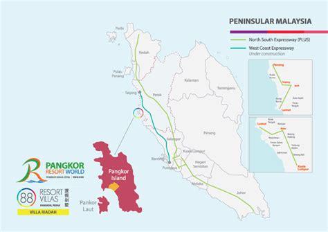 pangkor island resort map exploring pangkor