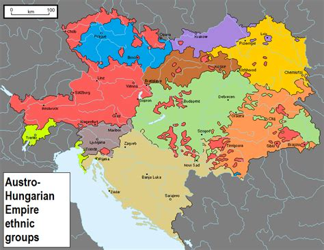 germany austria hungary and the ottoman empire ethnic groups of the austro hungarian empire by