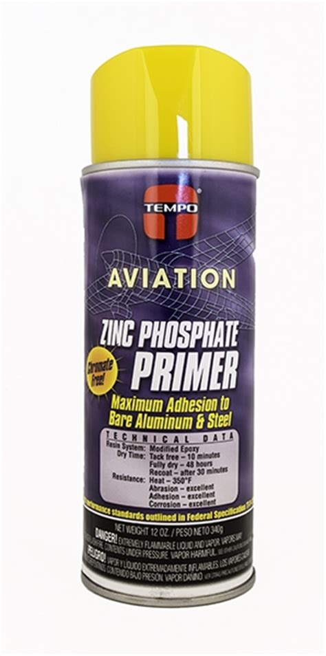 yellow primer a 701 tempo yellow zinc phosphate primer 12 oz aerosol spray can