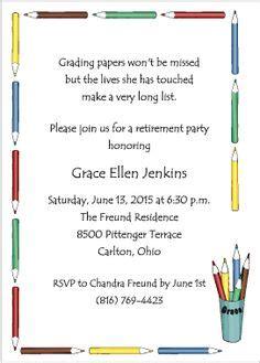 retirement invitations on pinterest retirement party