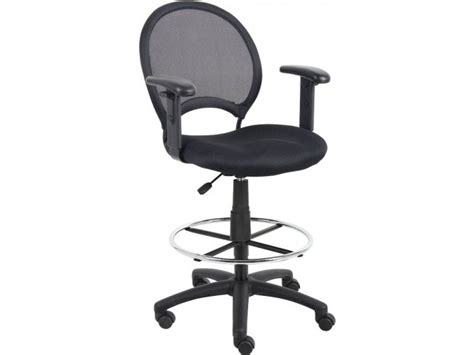 mesh drafting stool with arms sso 1616 mesh office chairs