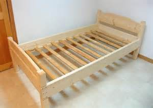build your own bed frame plans building a bed