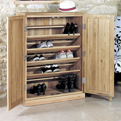 console table with shoe storage utility room cabinets oak shoe storage oak console table