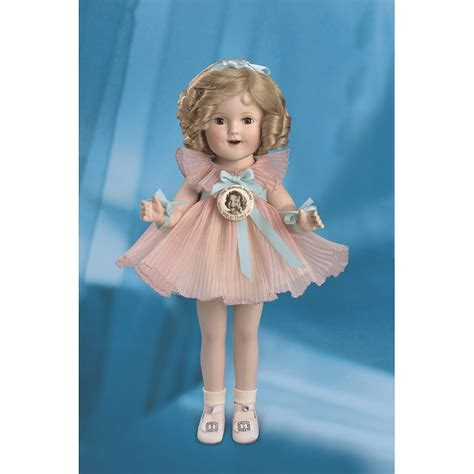 shirley temple antique doll the danbury mint