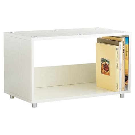 Stacker Shelf by Large White Vario Stacking Shelf The Container Store