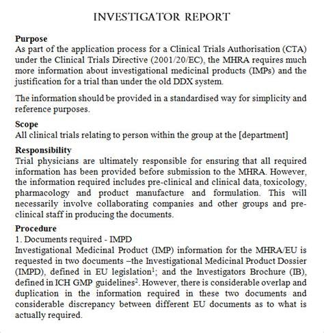 investigator brochure 8 investigator brochures word pdf
