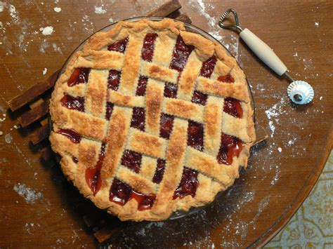 images of pie file cherry pie with lattice february 2008 jpg