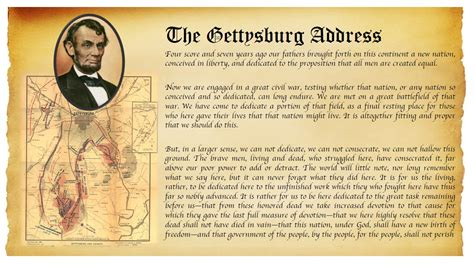 the enduring impact of lincoln s gettysburg address did gettysburg address calendar template 2016