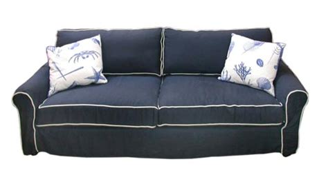 navy sofa slipcover furniture navy blue couch slipcovers