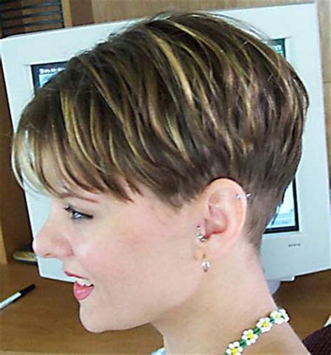 cropped hairstyles with wisps in the nape of the neck for hairxstatic crops pixies gallery 1 of 9