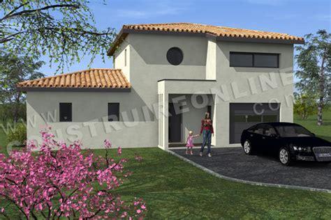 Garage Maison Moderne Interieur by Plan De Maison Moderne Modena