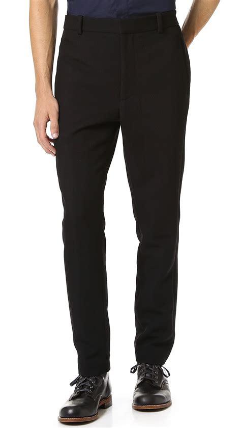 Black Slim Dress 3 1 phillip lim slim fit dress in black for lyst