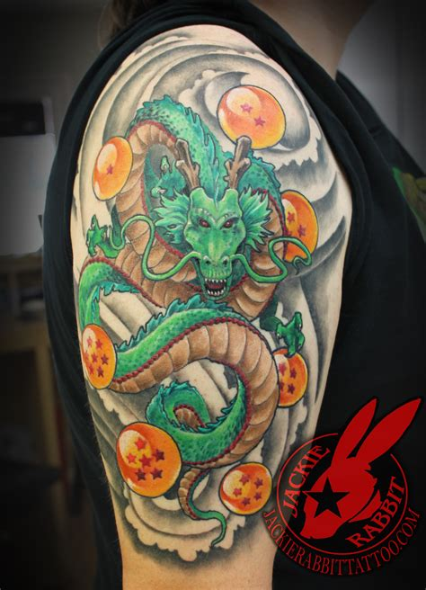 dragon ball z tattoos z balls shenron realistic 3d