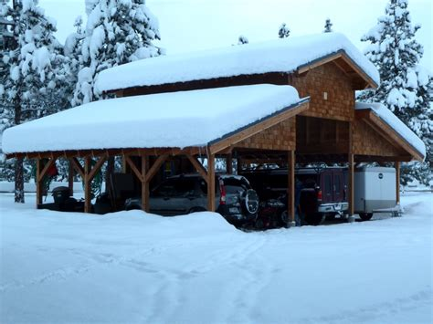 Carport Snow pdf diy carport design loads cardboard playhouse plans 187 woodworktips