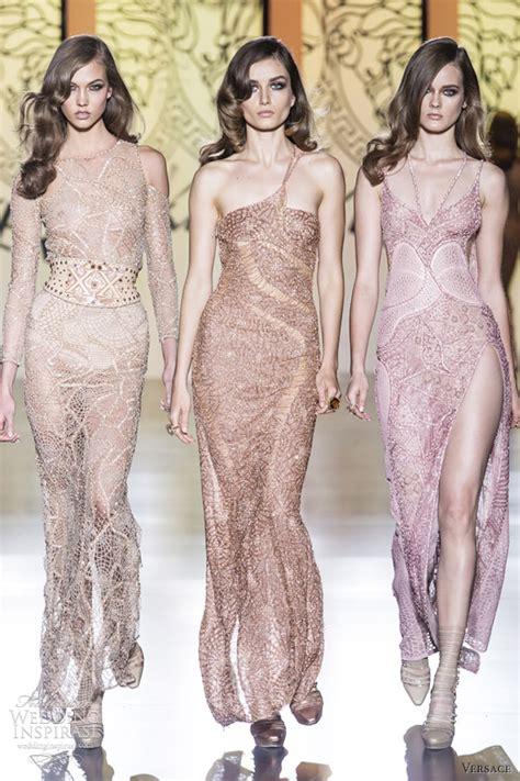 Atelier Versace Wedding Dresses by Versace Fall 2012 Couture Wedding Inspirasi