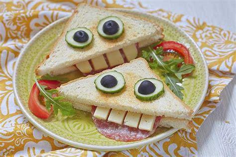 cucinare con i bambini ricette ricette per bambini 5 panini divertenti e buonissimi
