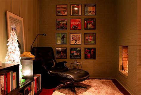 design ideas vinyl records displaying old album covers as art ideas from 8 reader