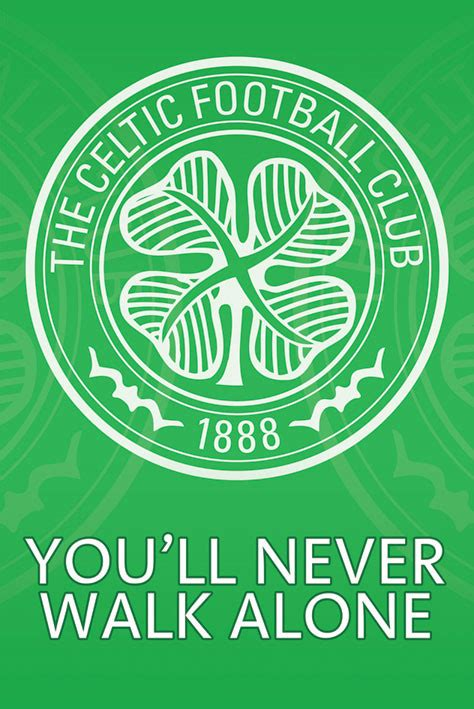 Football Wall Murals celtic crest poster sold at europosters