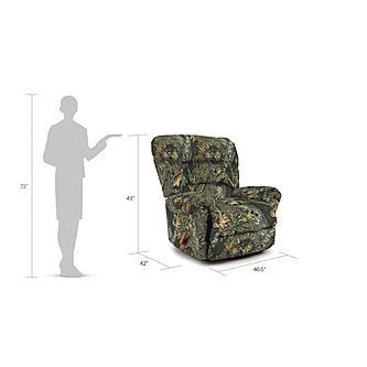 Best Home Furnishings Monroe Camo Rocker Recliner