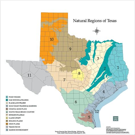 texas ecosystems map teacherweb 174