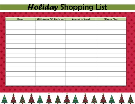 printable shopping list paper day 31 holiday shopping list craftivity designs