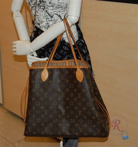 Lv Never Mono louis vuitton neverfull gm m40157 in monogram canvas die
