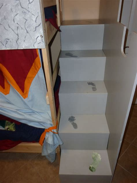 Ikea Bunk Beds With Stairs Castle Bunk Bed From Ikea Mydal Thora S