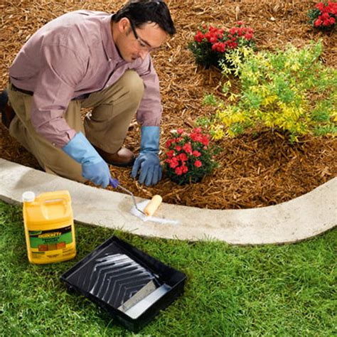 Landscape Edging Borders Diy Diy Concrete Garden Edging Corner