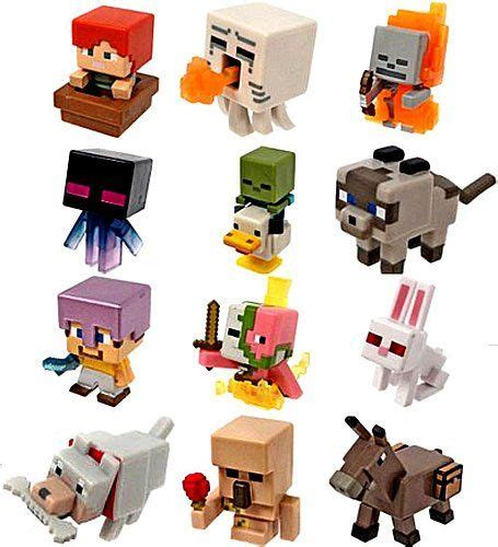 Pajangan Figure Minecraft Mini Figur Minifigures Seri 3 minecraft mini figures series 5 complete set of 12 toys will s wish