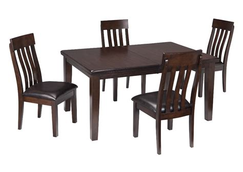 brown dining room table harlem furniture haddigan dark brown rectangle dining room