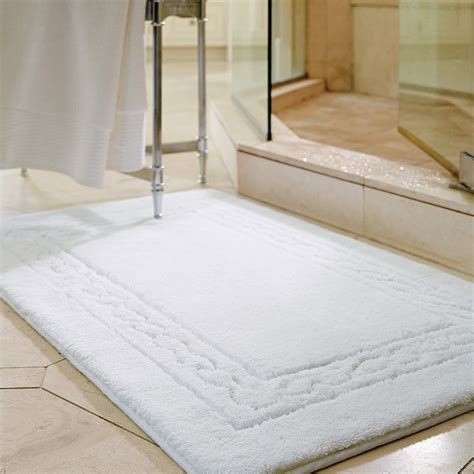 egyptian cotton skidresistant rug traditional bath