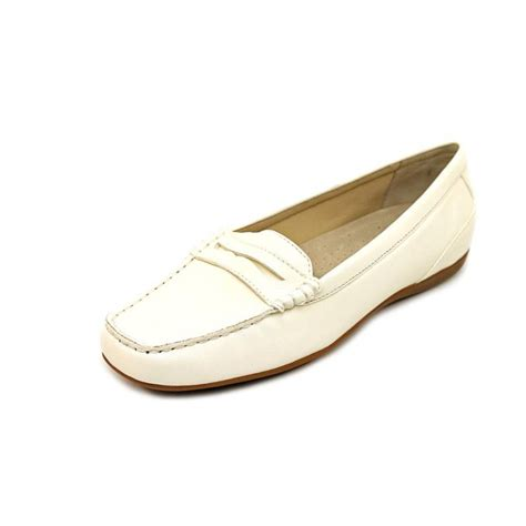 white loafers shoes trotters trotters francie n s leather white loafer