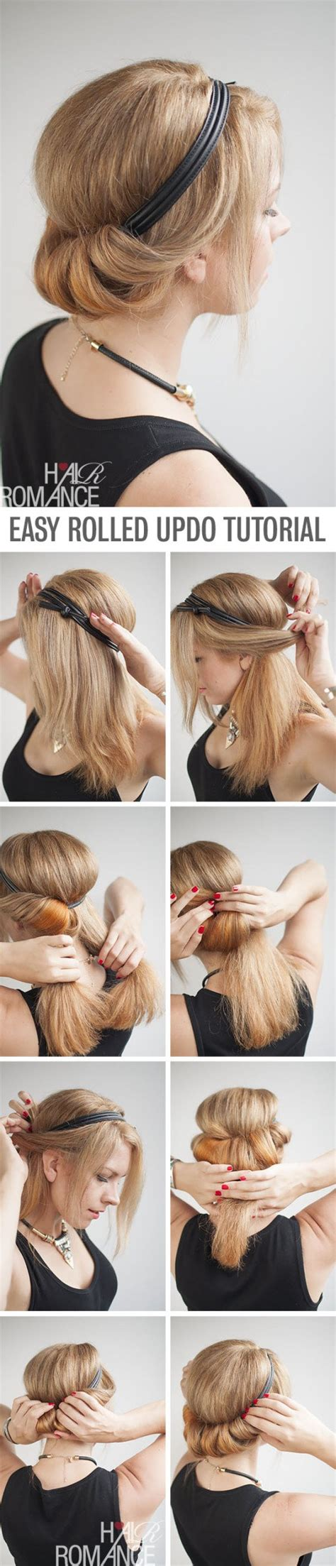 how to do easy 1920s hairstyles for mid hair with fringe 11 best diy hairstyle tutorials for your next going out
