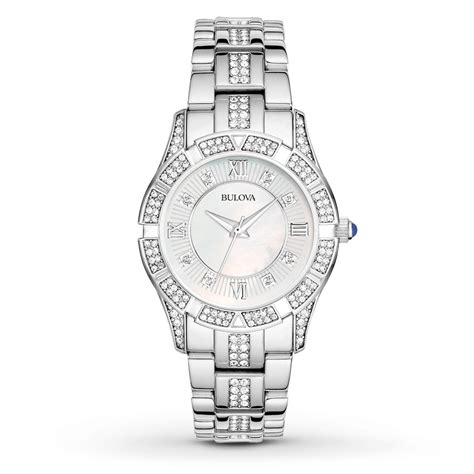 jared bulova s crystals collection 96l116
