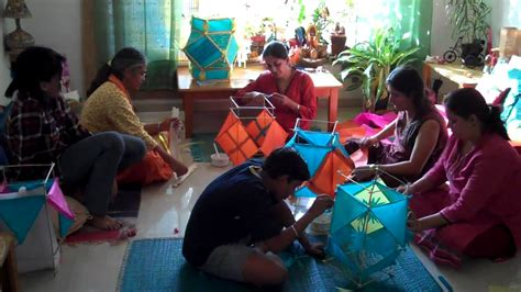 How To Make Diwali Paper Lanterns - how to make a diwali paper lantern ehow autos weblog