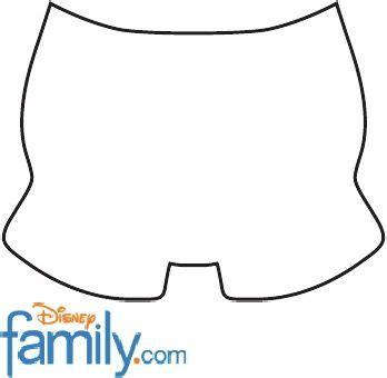 Molde De Pantaln De Mickey   molde shorts do mickey party mickey mouse pinterest
