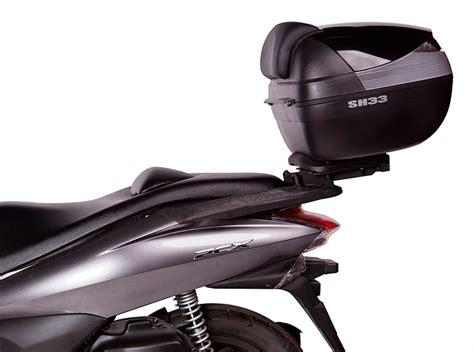 soporte de maleta trasera shad hpcst  moto honda