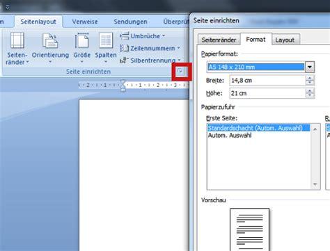Word Vorlage Faltkarte Din A5 Word Seite In Din A5 Drucken So Geht S Chip