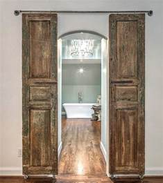 Barn Doors For Bathroom Modern And Rustic Interior Sliding Barn Door Designs