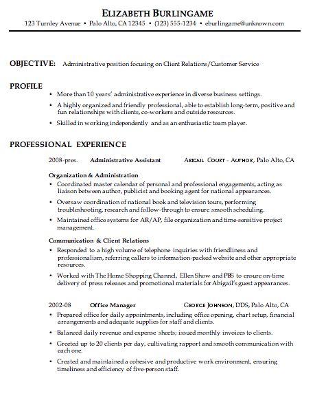 summary on resume customer service of a resume summary for customer