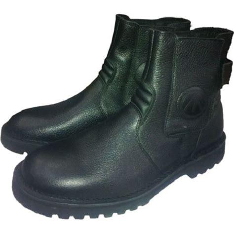 Sepatu Semi Boots Kulit Asli Ankle Boot Resmikerja Casual 96133 Jual Aerrostar Sepatu Kulit Size 39 Murah Bhinneka