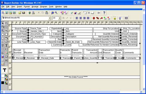 tutorial oracle report builder report builder templates 28 images 55005 6 report