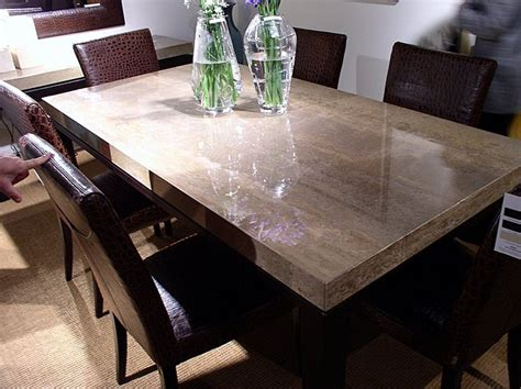 stone top dining room table 1 contemporary furniture 174 product page