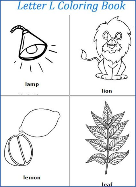 articulation coloring page letter l coloring pages speech pinterest worksheets