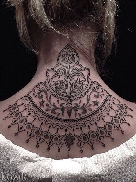 nape tattoo design best 25 nape ideas on organic