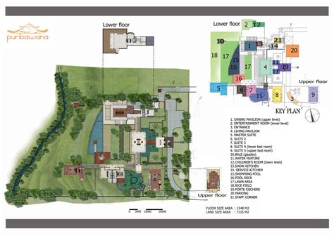 layout design villa villa layout villa puri bawana canggu 6 bedroom luxury