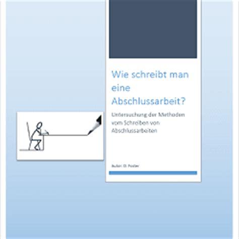 Word Vorlage Abschlussarbeit Informationsblatt Einer Abschlussarbeit